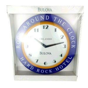 BULOVA RARE EXCLUSIVE Old Stock Wall Clock HRH
